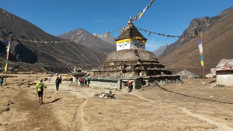 Templo con los Ojos de Buda